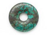 Turquoise Donut Pendant 30mm (TUR1404)