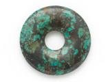 Turquoise Donut Pendant 30mm (TUR1407)