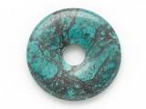 Turquoise Donut Pendant 25mm (TUR1409)