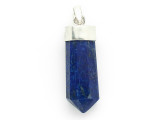 Sterling Silver & Lapis Lazuli Pendant 32mm (GSP2423)