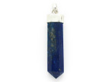 Sterling Silver & Lapis Lazuli Pendant 48mm (GSP2424)