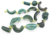Afghan Ancient Roman Glass Beads (AF1912)