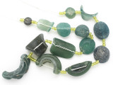 Afghan Ancient Roman Glass Beads (AF1913)