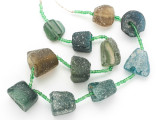 Afghan Ancient Roman Glass Beads (AF1914)