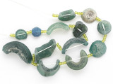 Afghan Ancient Roman Glass Beads (AF1925)