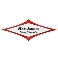 Jacobs Surfboards Classic Sticker