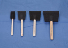 Black Poly-Foam Brushes