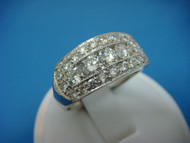1.75 CARAT MEN'S DIAMOND WEDDING-ANNIVERSARY RING HIGH QUALITY 9.5 MM WIDE