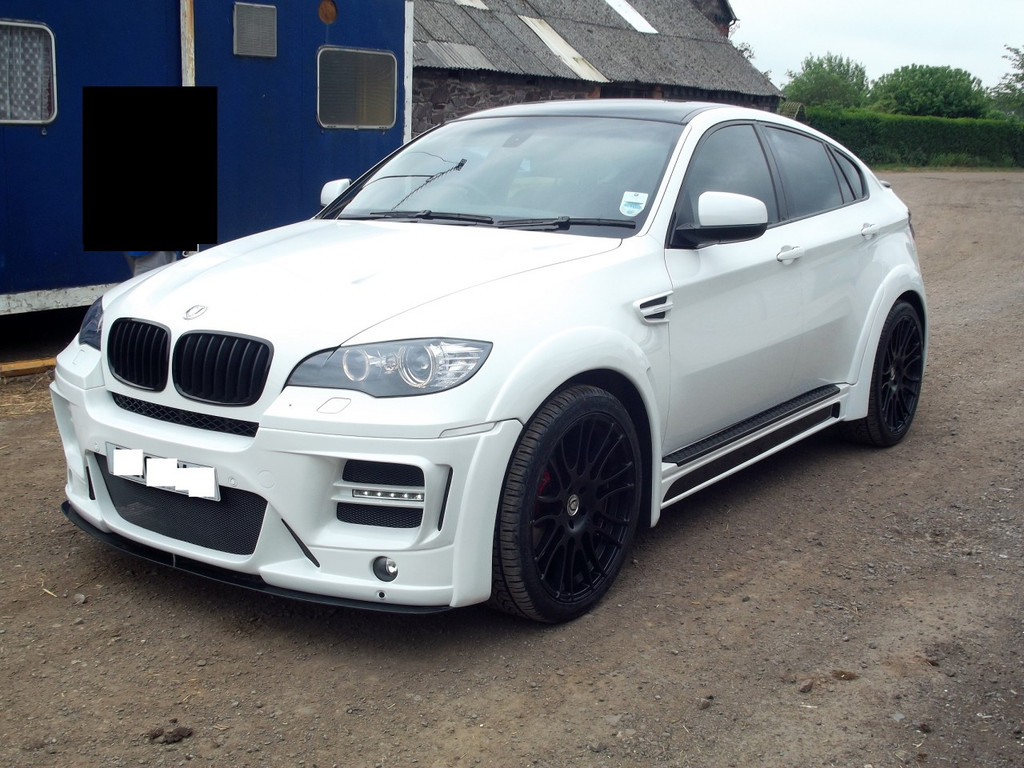 Bmw X6 Meduza Aerodynamic Body Kit Meduza Design Ltd
