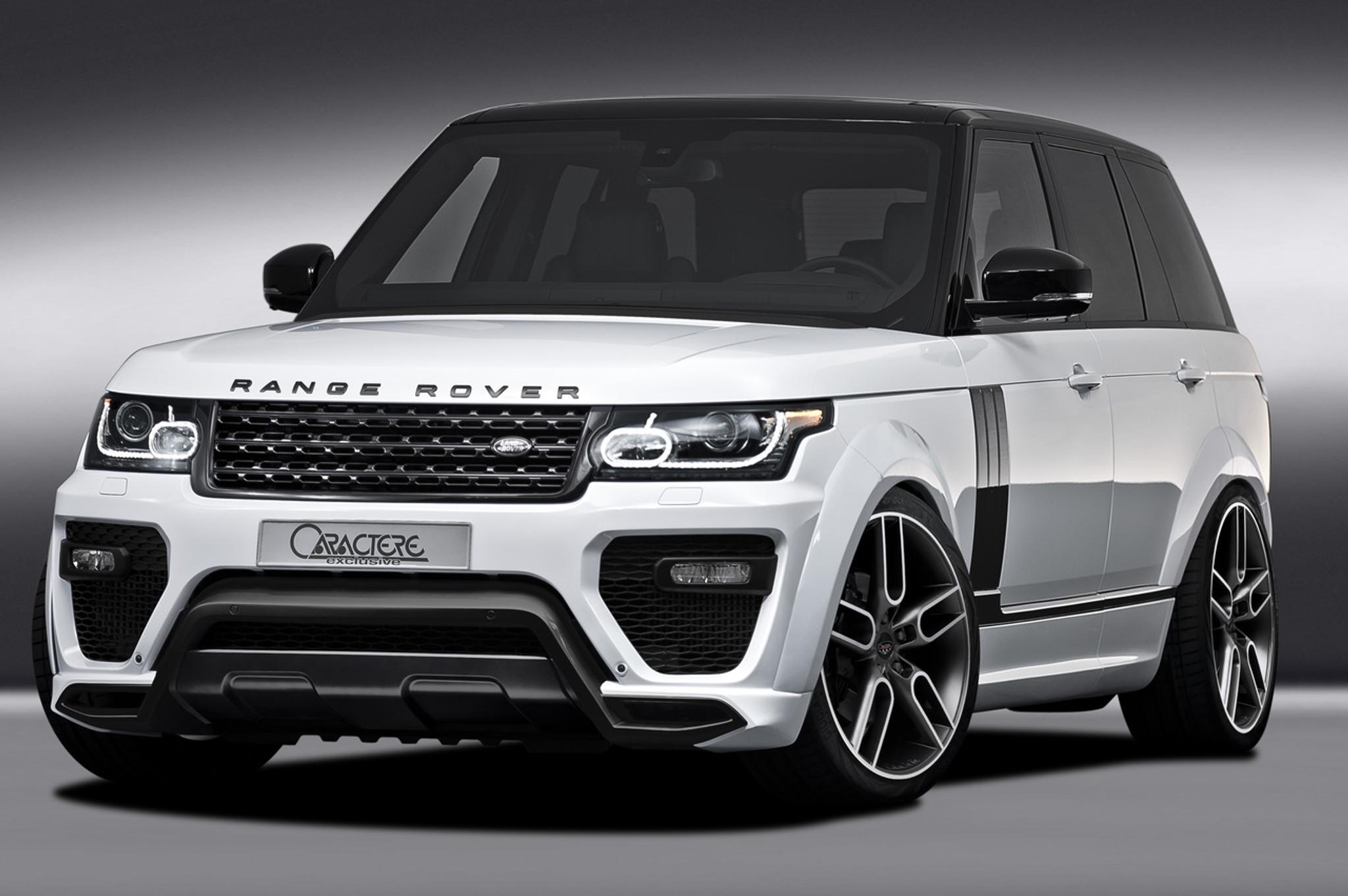 Range Rover L405 Caractere Body Kit Meduza Design Ltd