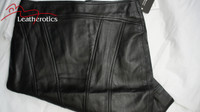 Luxury Real Leather Women's Pencil Skirt image 4