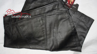 Luxury Real Leather Women's Pencil Skirt image 5