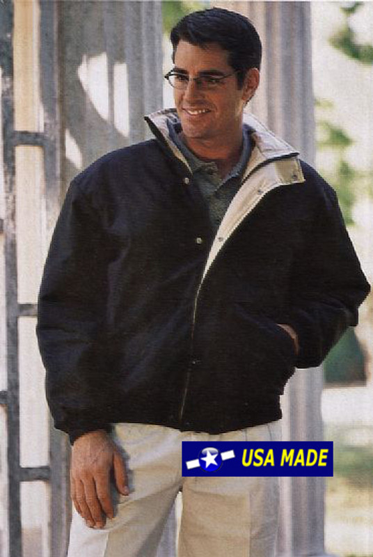 Men's warm Utility Bomber Jacket Made in USA