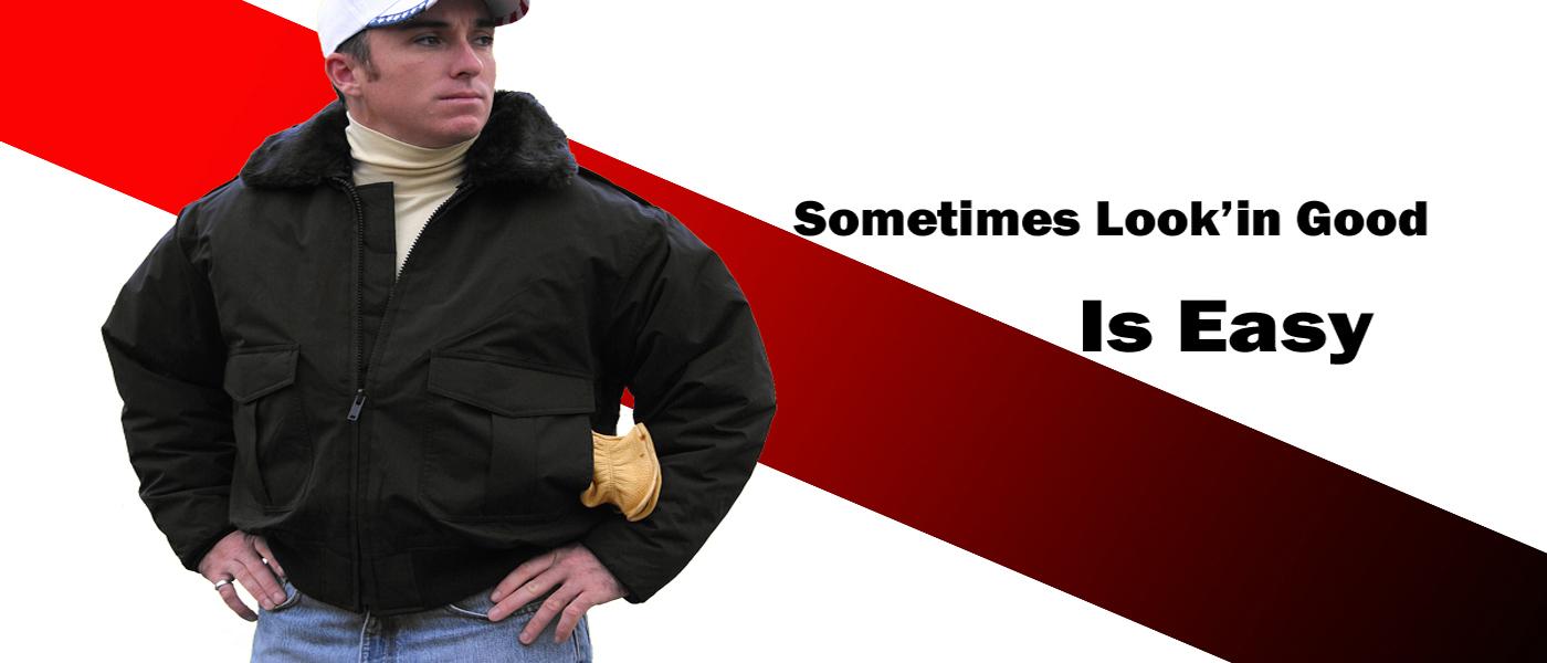 Nylon Bomber Jackets