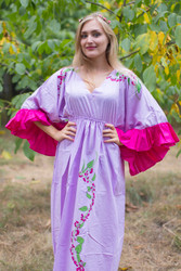 """Pretty Princess"" kaftan in Climbing Vines pattern"