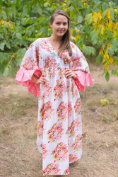 """Pretty Princess"" kaftan in Floral Posy pattern"