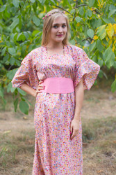 """Beauty, Belt and Beyond"" kaftan in Petit Florals pattern"