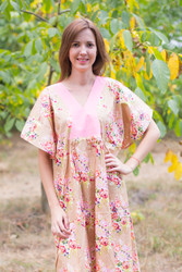 """Flowing River"" kaftan in Floral Posy pattern"
