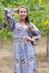 """My Peasant Dress"" kaftan in Butterfly Baby pattern"