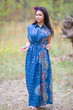 """""""Cool Summer"""" kaftan in Abstract Floral pattern"""