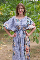 """Cut-out Cute"" kaftan in Butterfly Baby pattern"