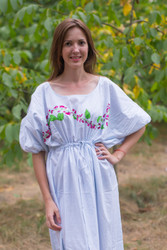 """Cut-out Cute"" kaftan in Climbing Vines pattern"