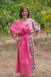 """""""Cut-out Cute"""" kaftan in Round and Round pattern"""