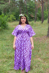 """Timeless"" kaftan in Chevron pattern"