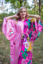 """Oriental Delight"" kaftan in Jungle of Flowers"