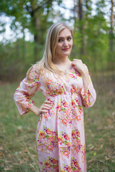 """""""Button me down"""" in Floral Posy pattern"""