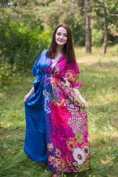 """Timeless"" kaftan in Vibrant Foliage pattern"