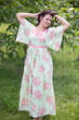 """Breezy Bohemian"" kaftan in Faded Flowers pattern"
