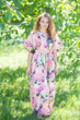 """Best of both the worlds"" kaftan in Flamingo Watercolor pattern"