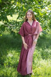 """Best of both the worlds"" kaftan in Ombre TieDye pattern"