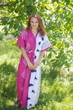 """""""Best of both the worlds"""" kaftan in Perfectly Paisley pattern"""