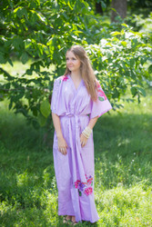 """Best of both the worlds"" kaftan in Swirly Floral Vine pattern"