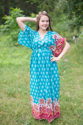 """""""I wanna Fly"""" kaftan in Floral Bordered pattern"""