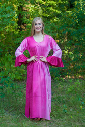 """Frill lovers"" kaftan in Ombre TieDye pattern"
