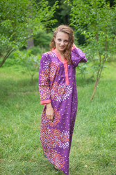 """Simply Elegant"" kaftan in Abstract Floral pattern"