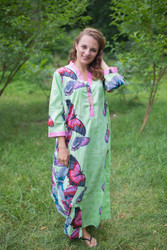 """Simply Elegant"" kaftan in Butterfly Baby pattern"