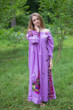 """Serene Strapless"" kaftan in Big Butterfly pattern"