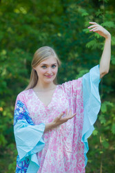 """Ballerina"" kaftan in Falling Leaves pattern"