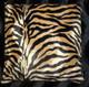 Brown Zebra Pillow Cover