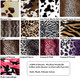 """Selection For """"Reversible"""" various animal prints"""