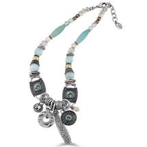 Elements Blue Necklace (N1118)
