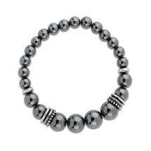 Contraire Hematite Stretch Bracelet (B1481)