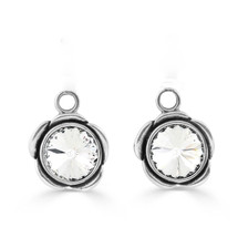 Camelia Pretty Woman Earring Charms (E4184)