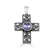 Vintage Dreamer Cross Pendant (EN1564)
