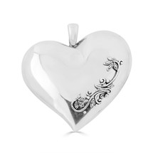 Vintage Heart Pendant (EN1581)