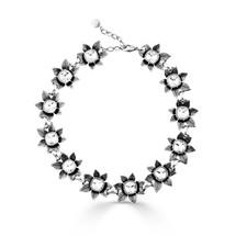 Crystal Zinnia Necklace (N1947)